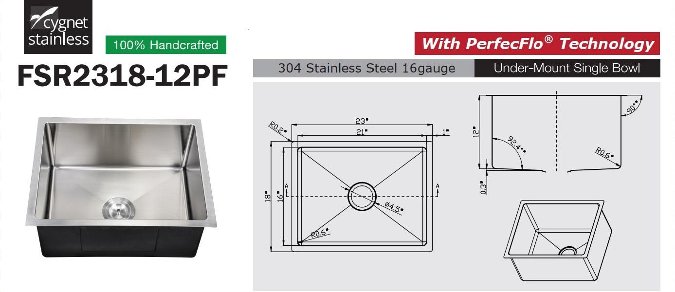 FSR213-12PF Ferfectflo™